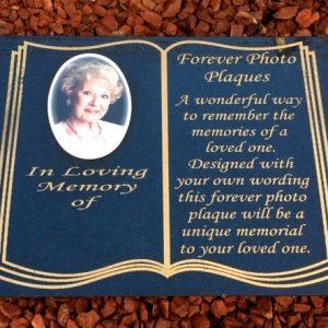 A3 Memorial Plaque Large Photo