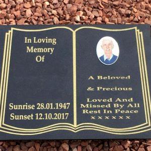 A3 Memorial Plaque Small Photo