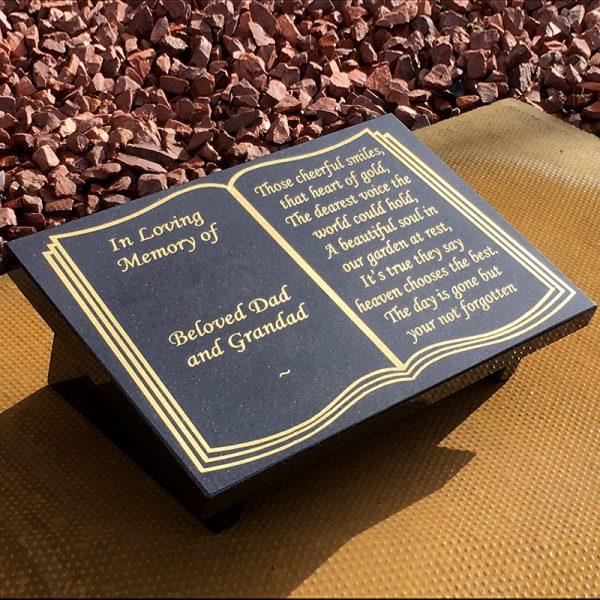 A4 Book design plaque