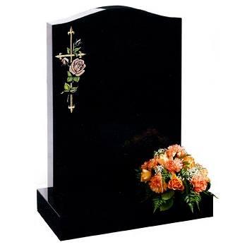 Forever Memorials Ogee Headstone